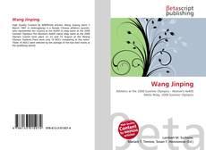 Wang Jinping kitap kapağı