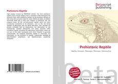 Обложка Prehistoric Reptile