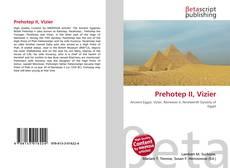 Capa do livro de Prehotep II, Vizier