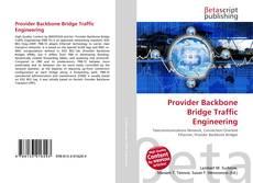 Bookcover of Provider Backbone Bridge Traffic Engineering