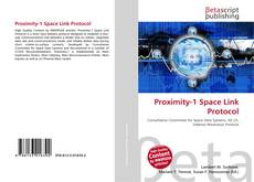 Bookcover of Proximity-1 Space Link Protocol