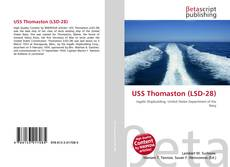 Capa do livro de USS Thomaston (LSD-28)