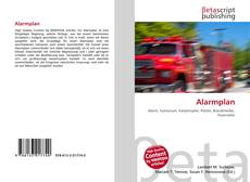 Bookcover of Alarmplan