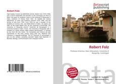 Portada del libro de Robert Folz