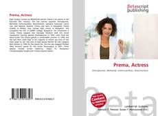 Portada del libro de Prema, Actress
