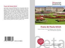Buchcover von Franz de Paula Ulrich