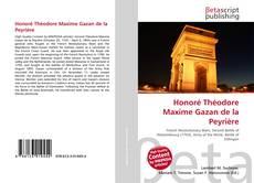 Обложка Honoré Théodore Maxime Gazan de la Peyrière