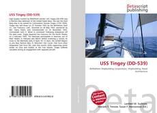 Portada del libro de USS Tingey (DD-539)