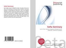 Bookcover of Sofia Seminary