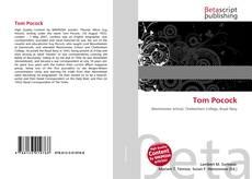 Buchcover von Tom Pocock