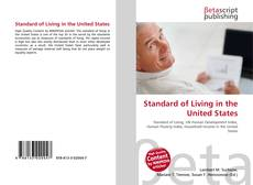 Bookcover of Standard of Living in the United States