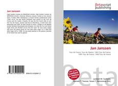 Capa do livro de Jan Janssen