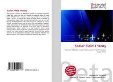 Bookcover of Scalar Field Theory