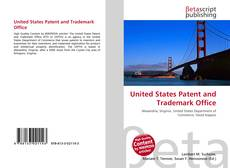 Bookcover of United States Patent and Trademark Office