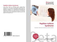 Bookcover of Papillon–Lefèvre Syndrome