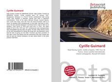 Portada del libro de Cyrille Guimard
