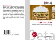 Buchcover von Prem Kaa Game