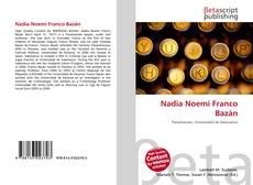 Capa do livro de Nadia Noemí Franco Bazán