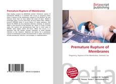 Couverture de Premature Rupture of Membranes