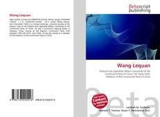 Wang Lequan kitap kapağı