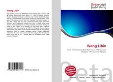Wang Libin kitap kapağı