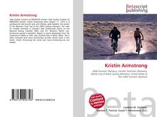 Bookcover of Kristin Armstrong