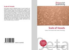 Bookcover of Scale of Vowels