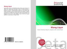 Wang Liqun kitap kapağı
