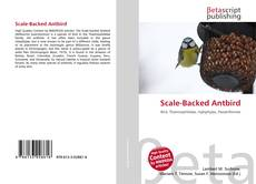 Bookcover of Scale-Backed Antbird