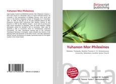 Couverture de Yuhanon Mor Philexinos