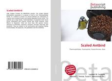 Bookcover of Scaled Antbird