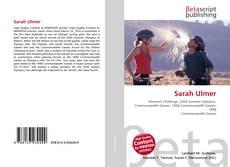 Bookcover of Sarah Ulmer