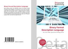 Capa do livro de Binary Format Description Language