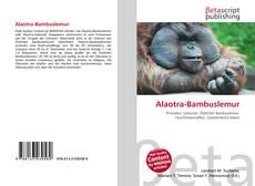 Обложка Alaotra-Bambuslemur