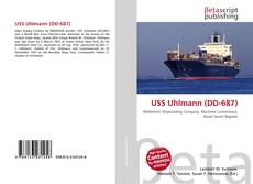 Portada del libro de USS Uhlmann (DD-687)