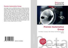 Capa do livro de Premier Automotive Group
