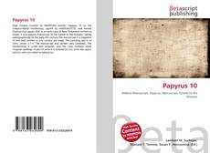 Bookcover of Papyrus 10