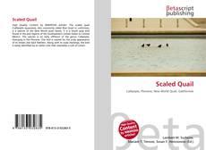 Capa do livro de Scaled Quail