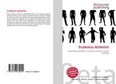 Buchcover von Scalenus Anterior