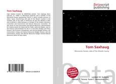 Capa do livro de Tom Saxhaug