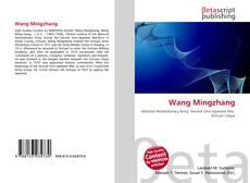 Wang Mingzhang kitap kapağı