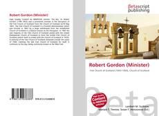 Portada del libro de Robert Gordon (Minister)