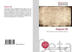 Papyrus 38 kitap kapağı