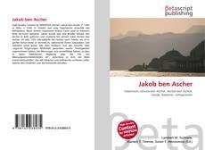 Jakob ben Ascher kitap kapağı