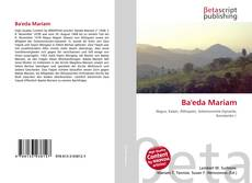 Bookcover of Ba'eda Mariam