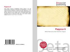 Bookcover of Papyrus 6