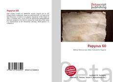 Bookcover of Papyrus 60