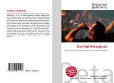 Copertina di Nadine Velazquez