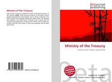 Bookcover of Ministry of the Treasury