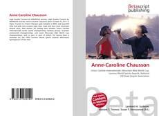 Capa do livro de Anne-Caroline Chausson